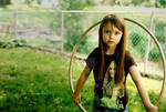 Hula Hoop Girl II