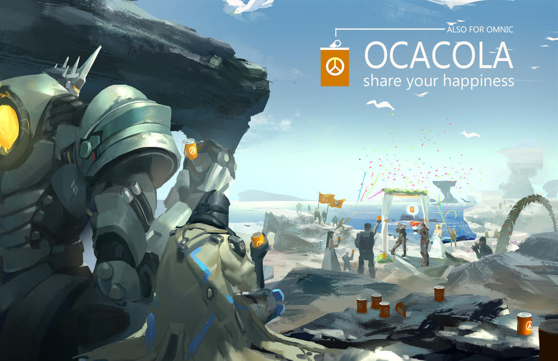 OCACOLA #1 by Flaurel