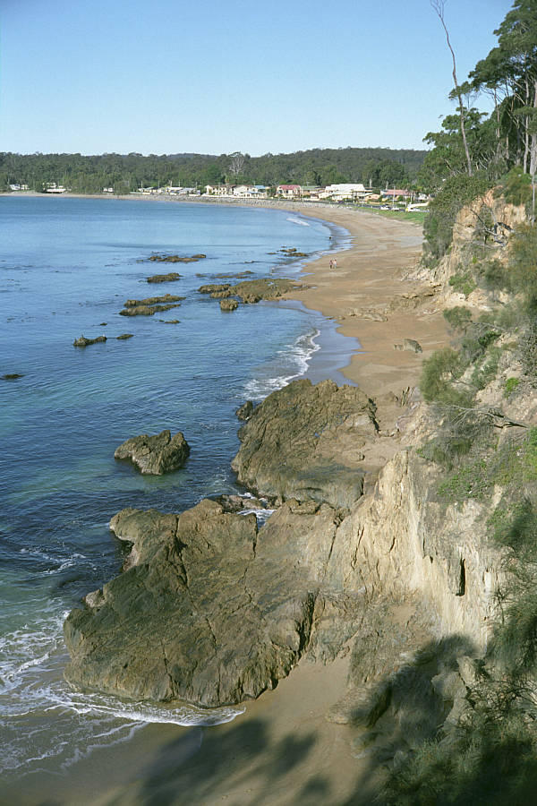 Beach from the headland