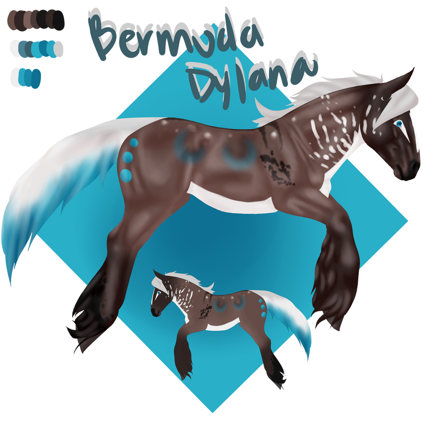 Bermuda Dylana Reference by linaeee