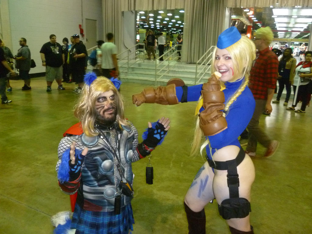 Cammy v Kitty Thor by Jarrak