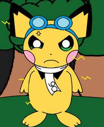 Angry Pichu90 by LegoEJMGooGoo