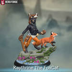 HeroForge Model - Kaythrine The FoxCat