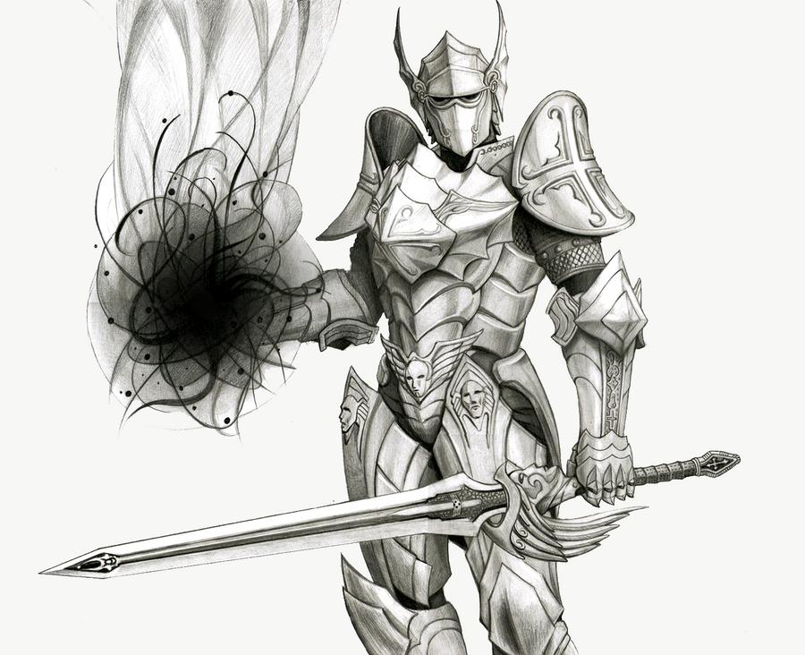 Rakion Divinity : Damned Knight by NemoRAK