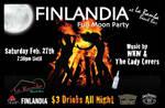 Finlandia Full Moon Pary