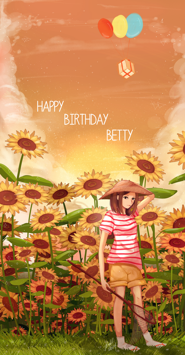 Happy Birthday Betty! (2014) by Pork-Bunny
