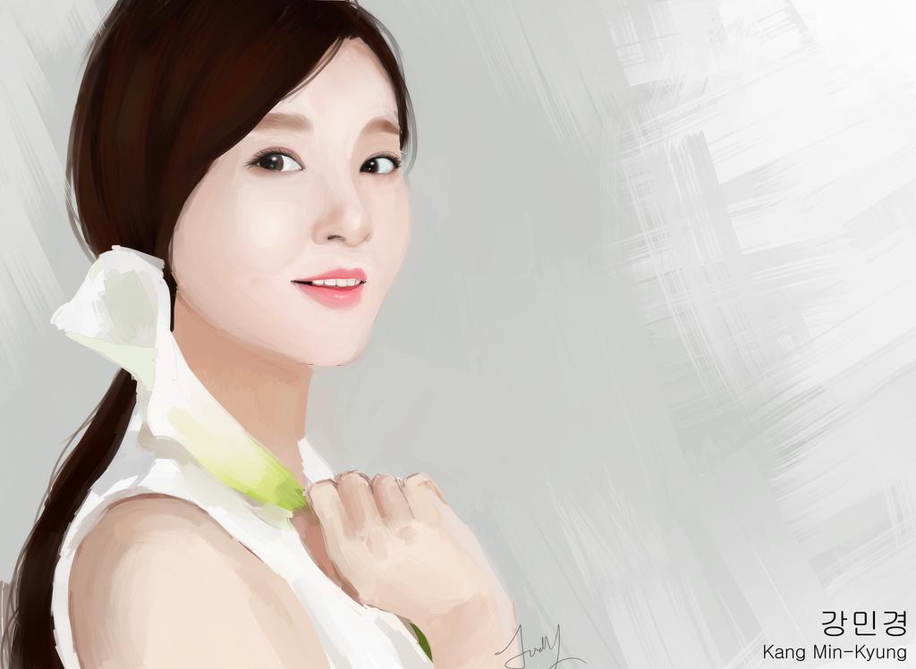 Kang Min-Kyung by Pork-Bunny