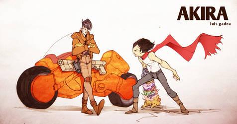 Akira by gadeaster