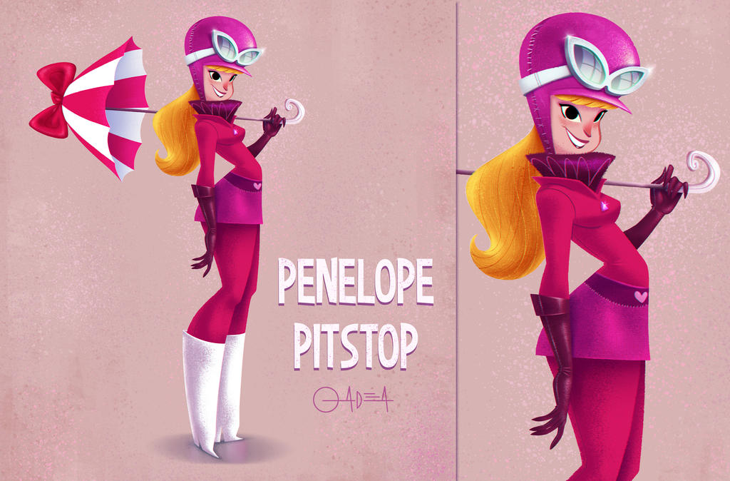 Penelope Pitstop by gadeaster