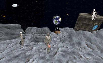 Predicted Moon Landing