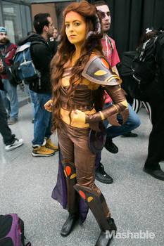 alien rage warrior queen (Wrathia -- Ava's Demon)