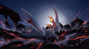 Sky Comet Dragon - Monster Hunter by hikary-starrysky
