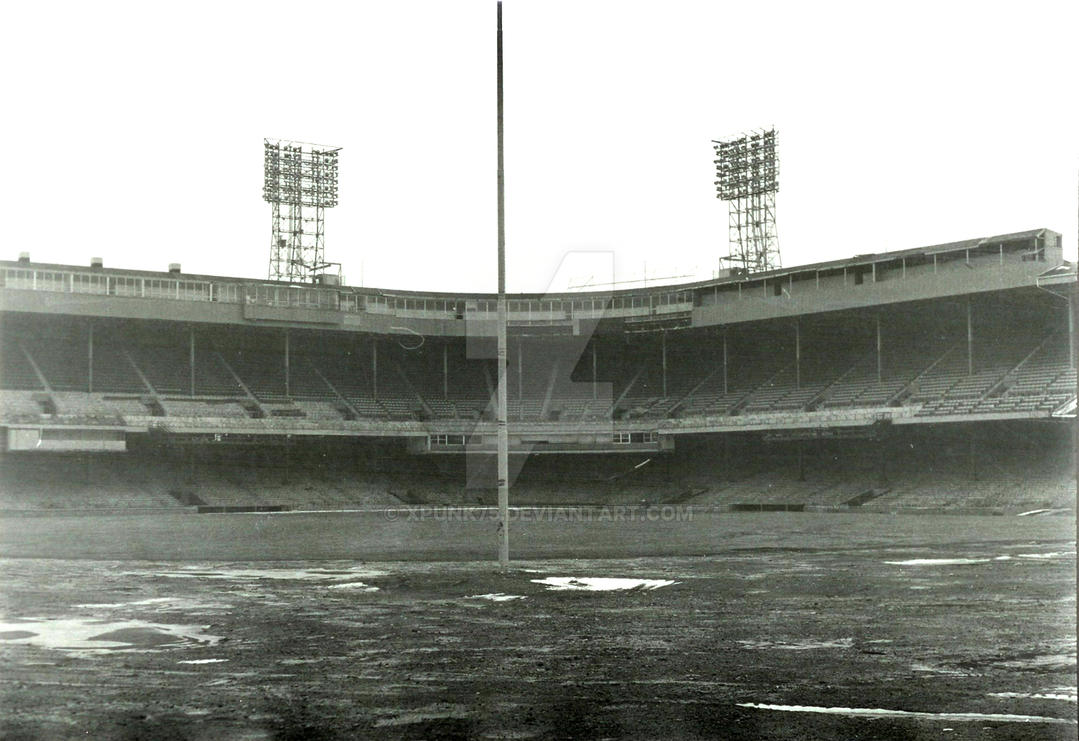Last Days of Tiger Stadium by Xpunk75