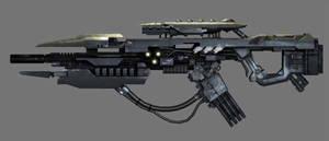 Chimeran Auger Rifle