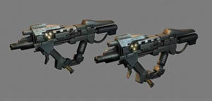 Chimeran Reaper SMGs by Seargent-Demolisher