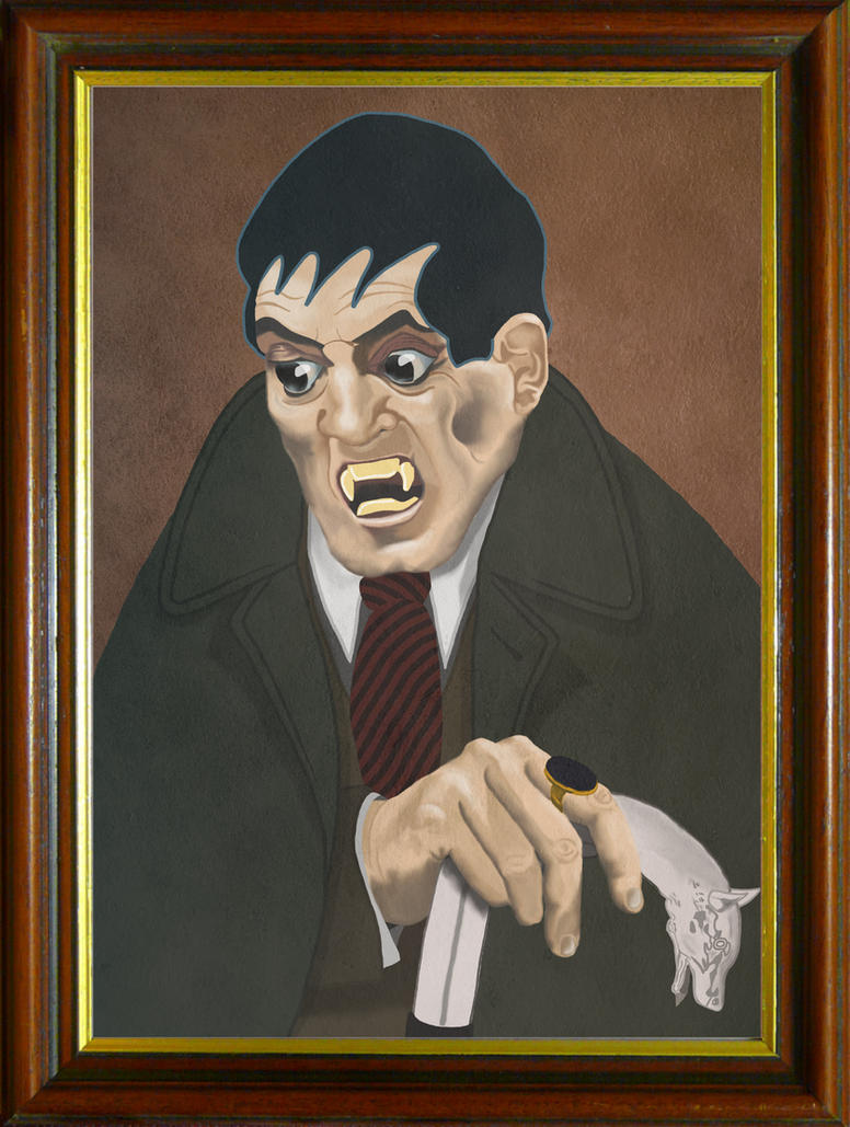 Dark Shadows Barnabas Collins by maxevry