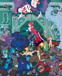 Derek Evry Fantasy Rock Poster