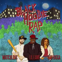 maticulous - Black Hoodie Rap single cover