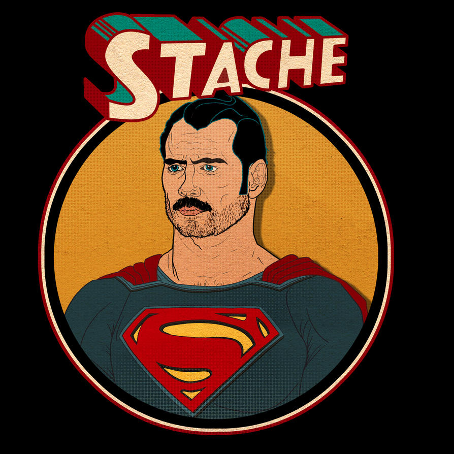 Super Stache t-shirt by maxevry
