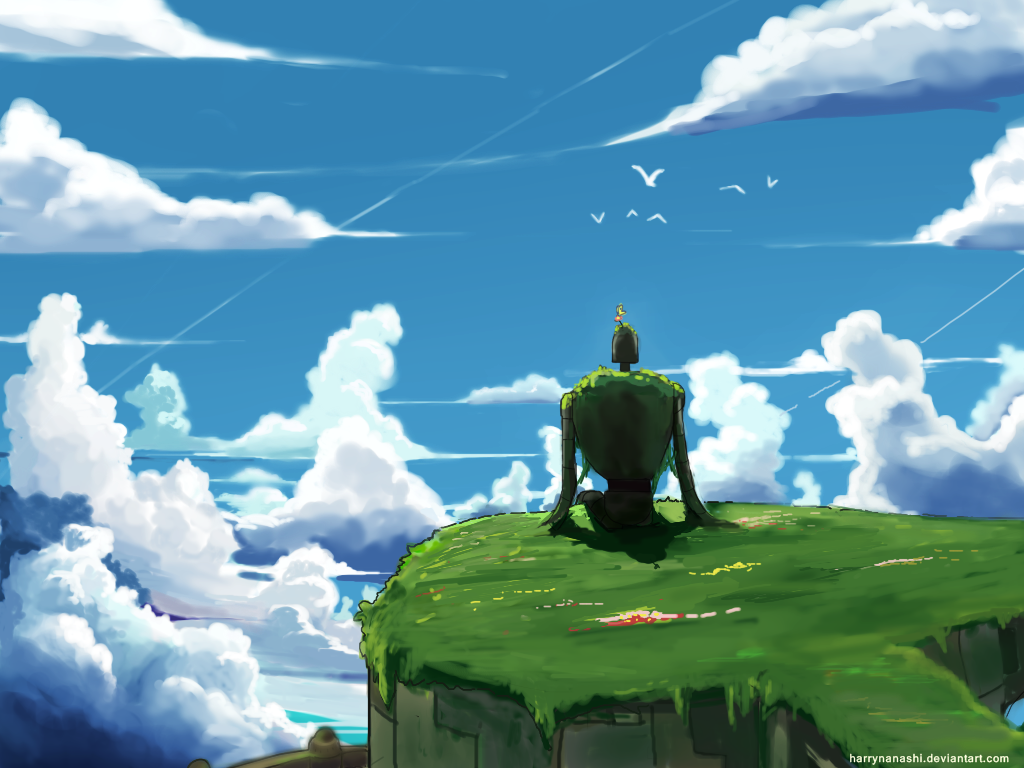 Laputa Castle In The Sky By Harrynanashi On Deviantart