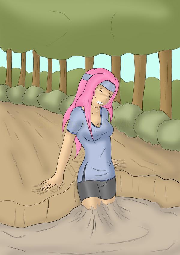 Struggling Jenna by Sir-Raymond2k3