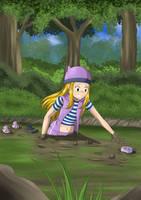 Izumi in Quicksand by Sir-Raymond2k3