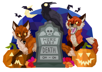 Here Lies Death by ChaoticEdges
