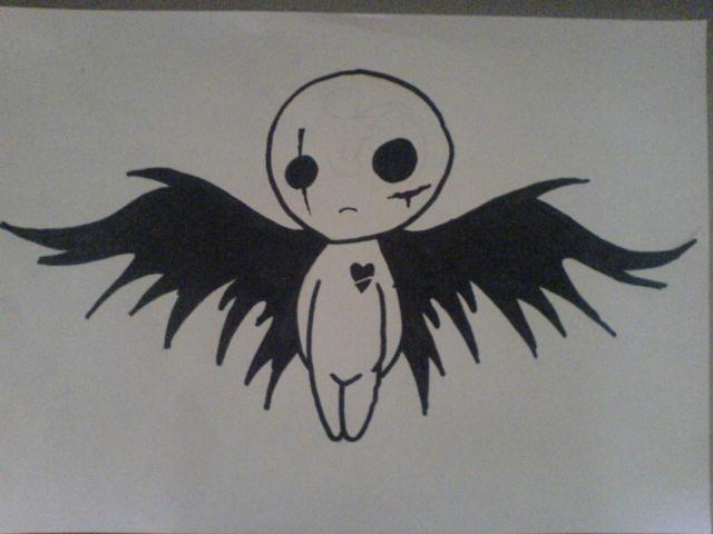 Emo angel by shadow00760 on deviantart emo angel by shadow00760 voltagebd Choice Image