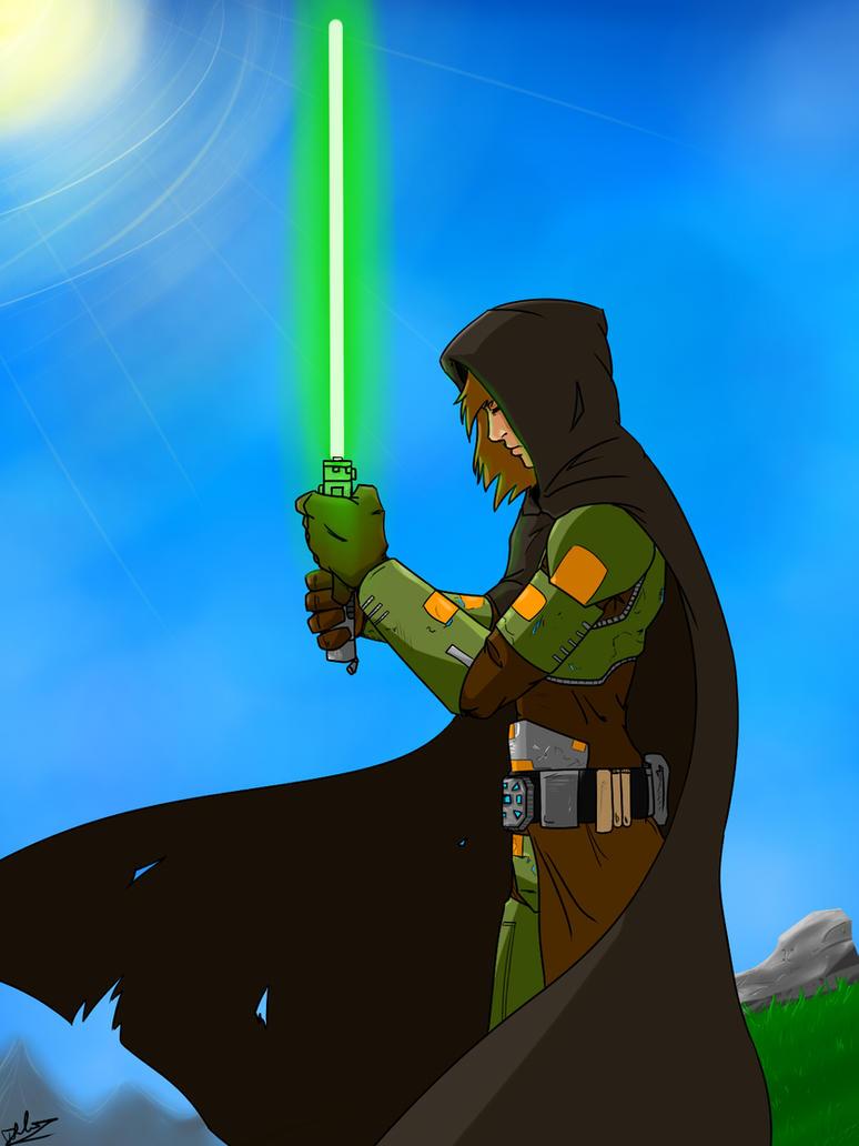 Kel Durron - Jedi Knight by lonelion4ever