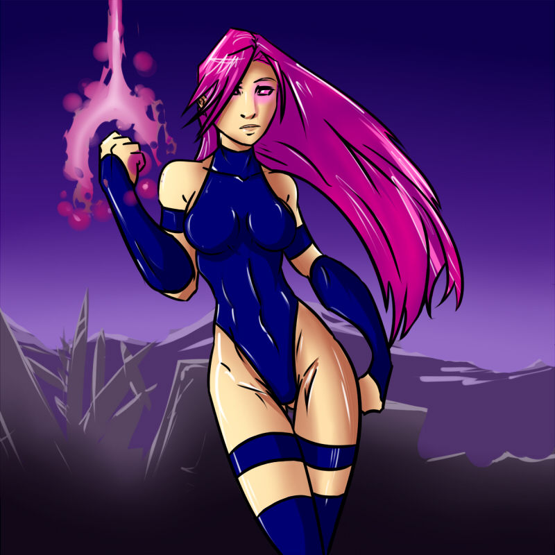 Psylocke by lonelion4ever