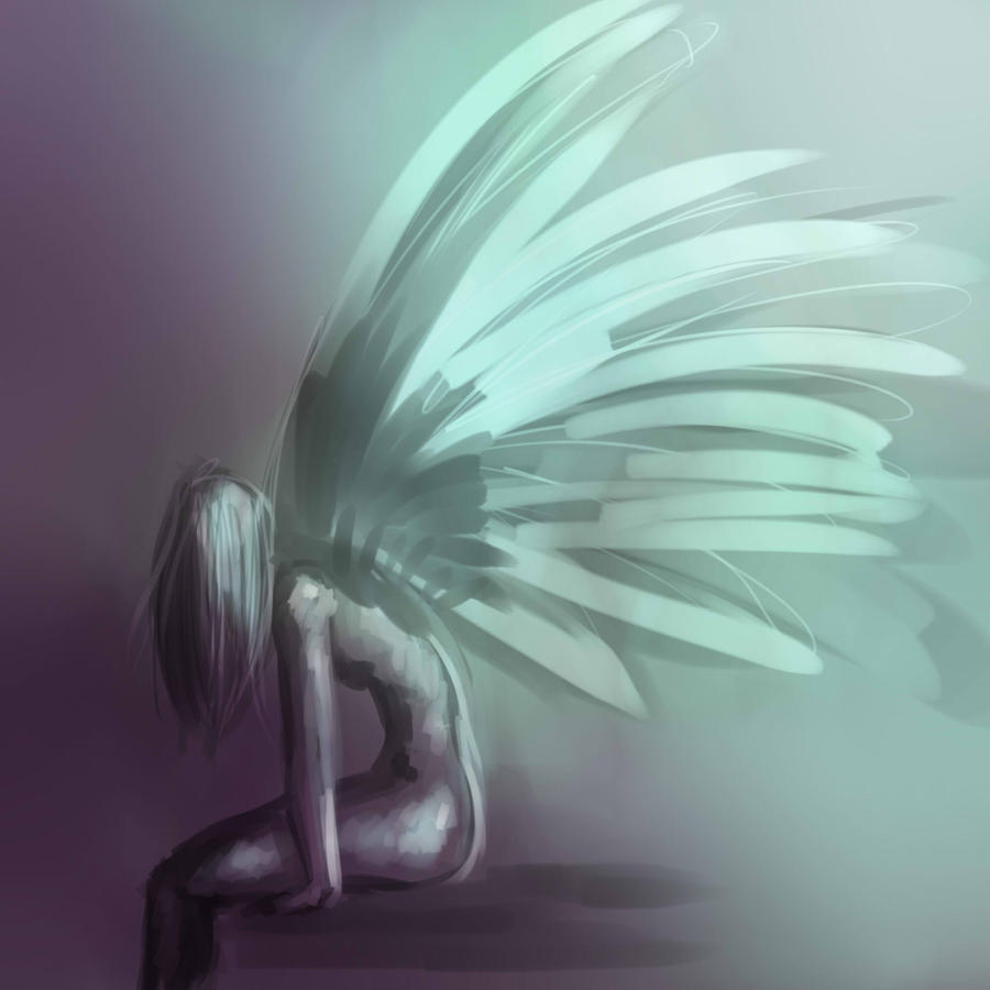 fairy angel.... thing by lonelion4ever