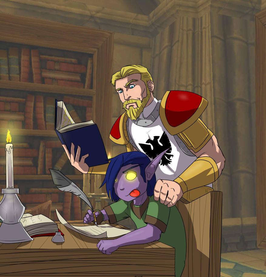 Guild Teacher by lonelion4ever