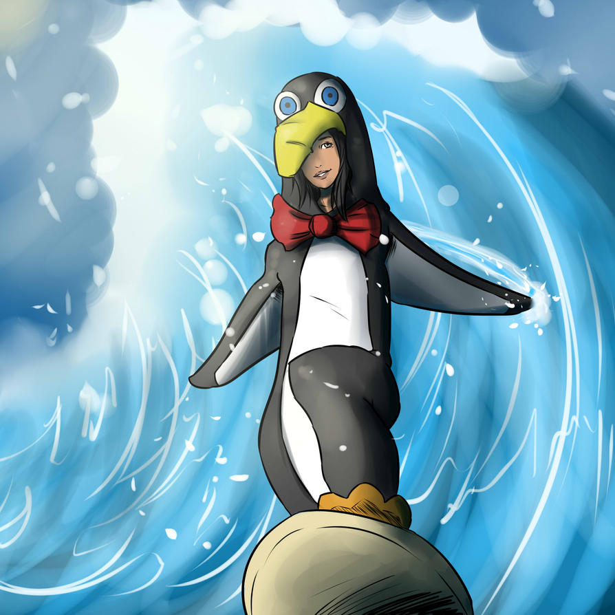 Big Surfin' by lonelion4ever