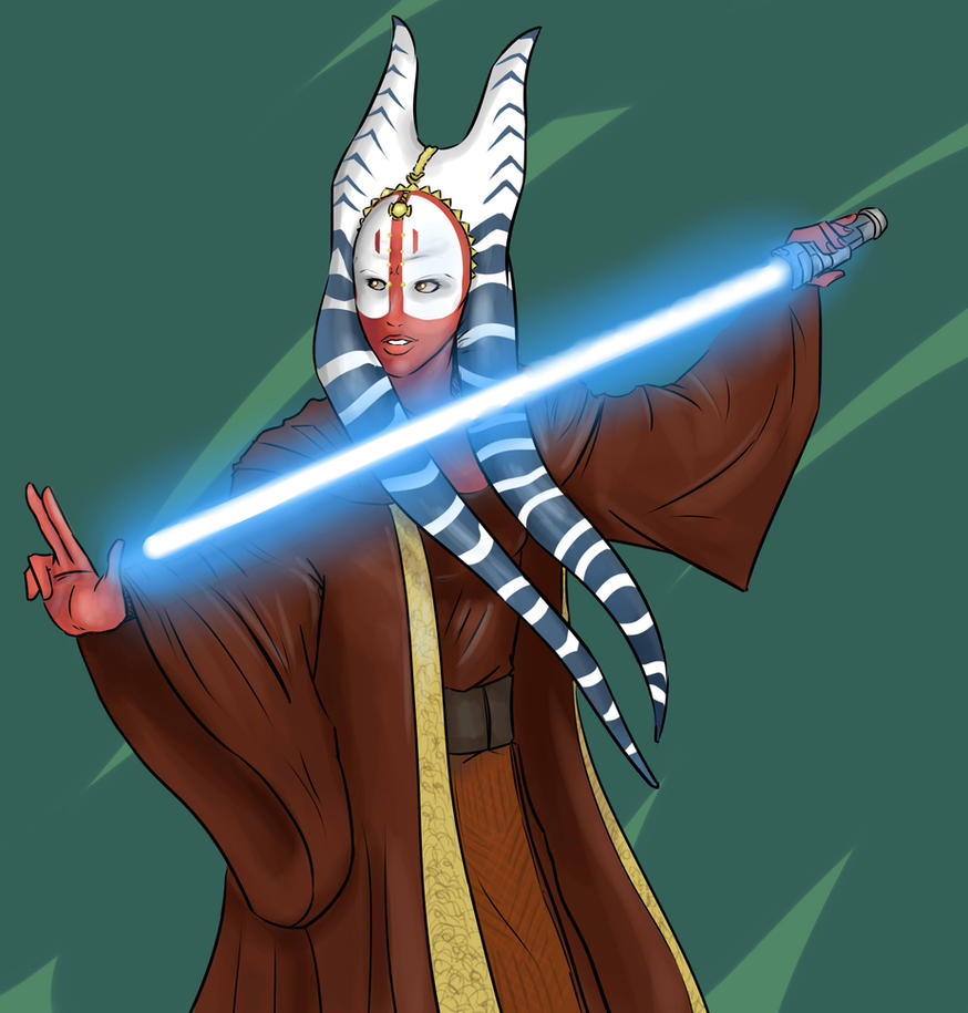 Shaak Ti Commish by lonelion4ever