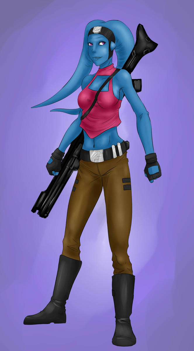 Twi'lek Commission by lonelion4ever
