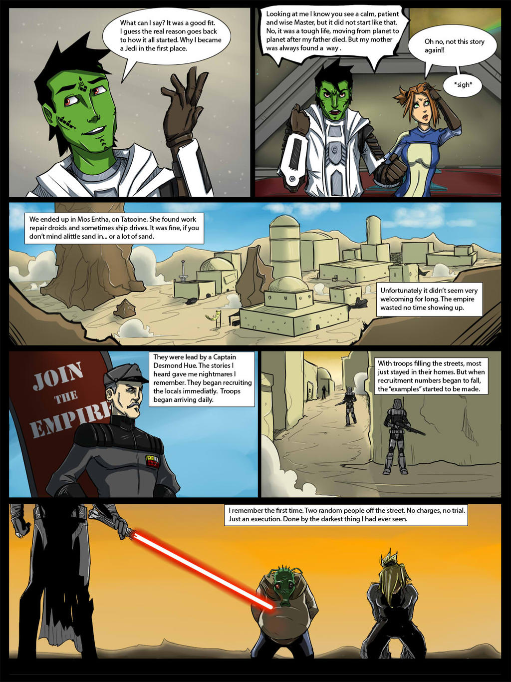 Kelthyn RP Story Pg2 by lonelion4ever