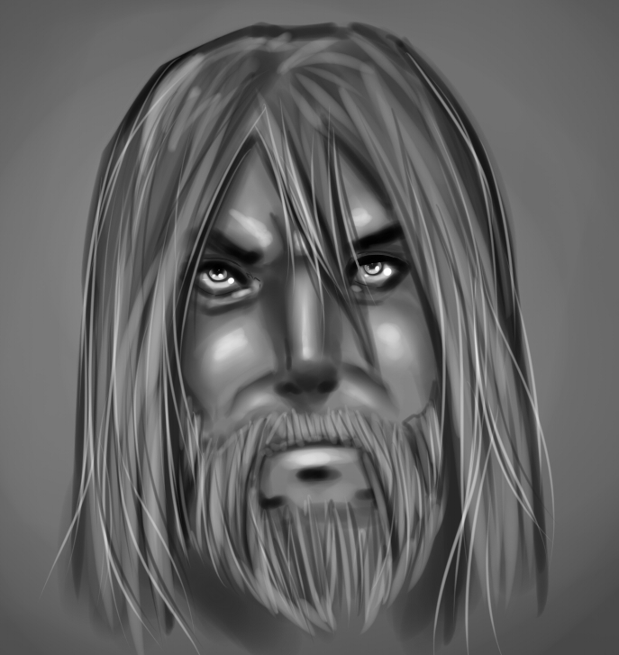 speedpaint viking by lonelion4ever