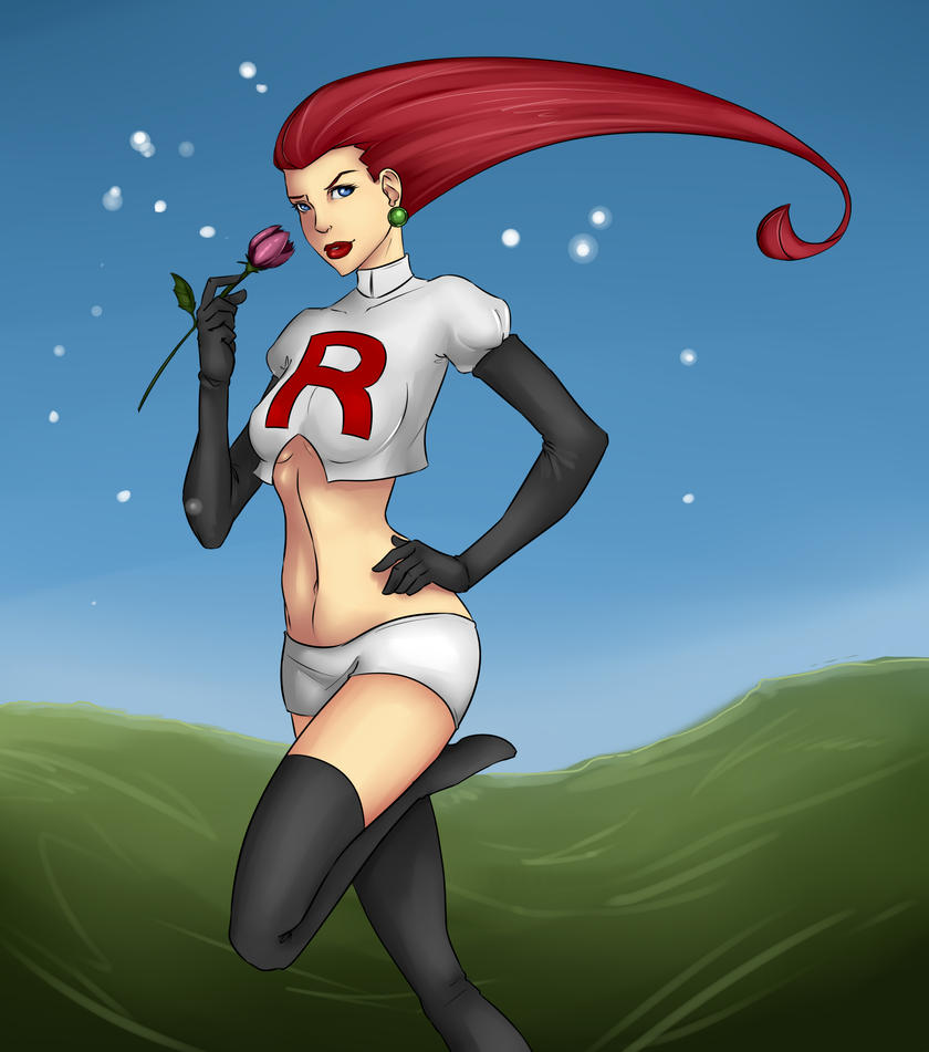 Jessie Team Rocket by lonelion4ever