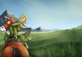 Riding to War by lonelion4ever
