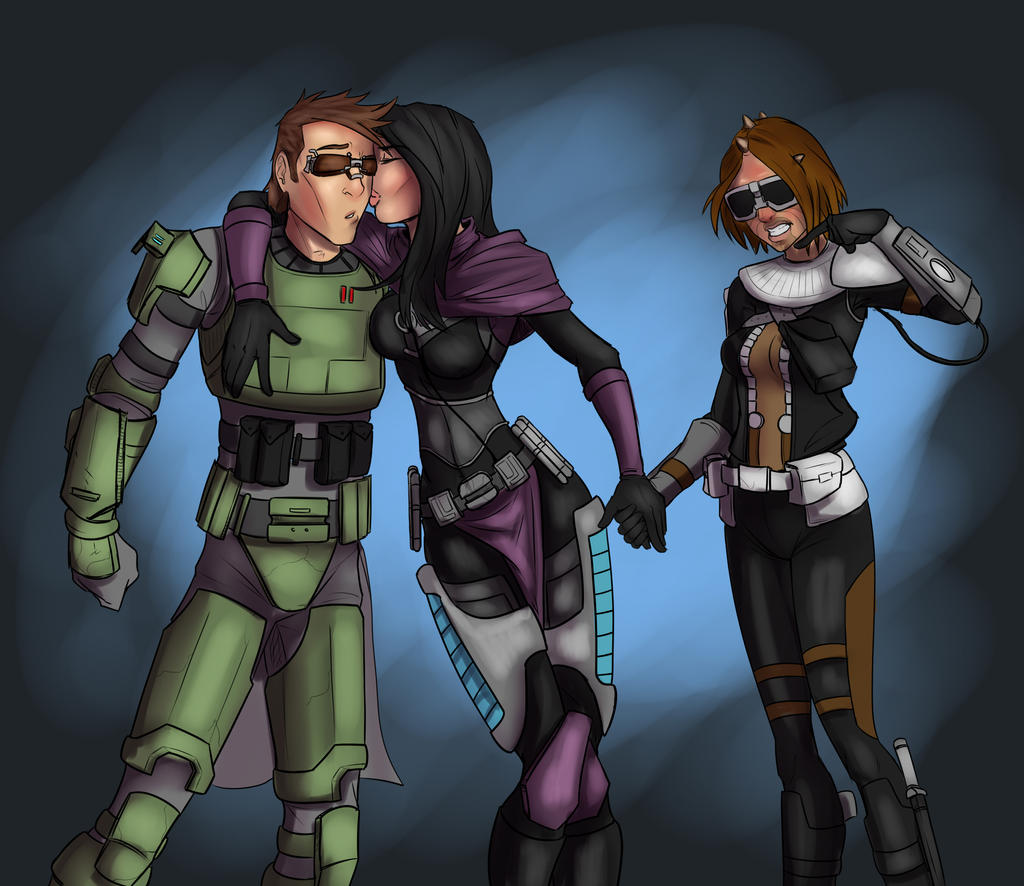 Swtor commission again by lonelion4ever