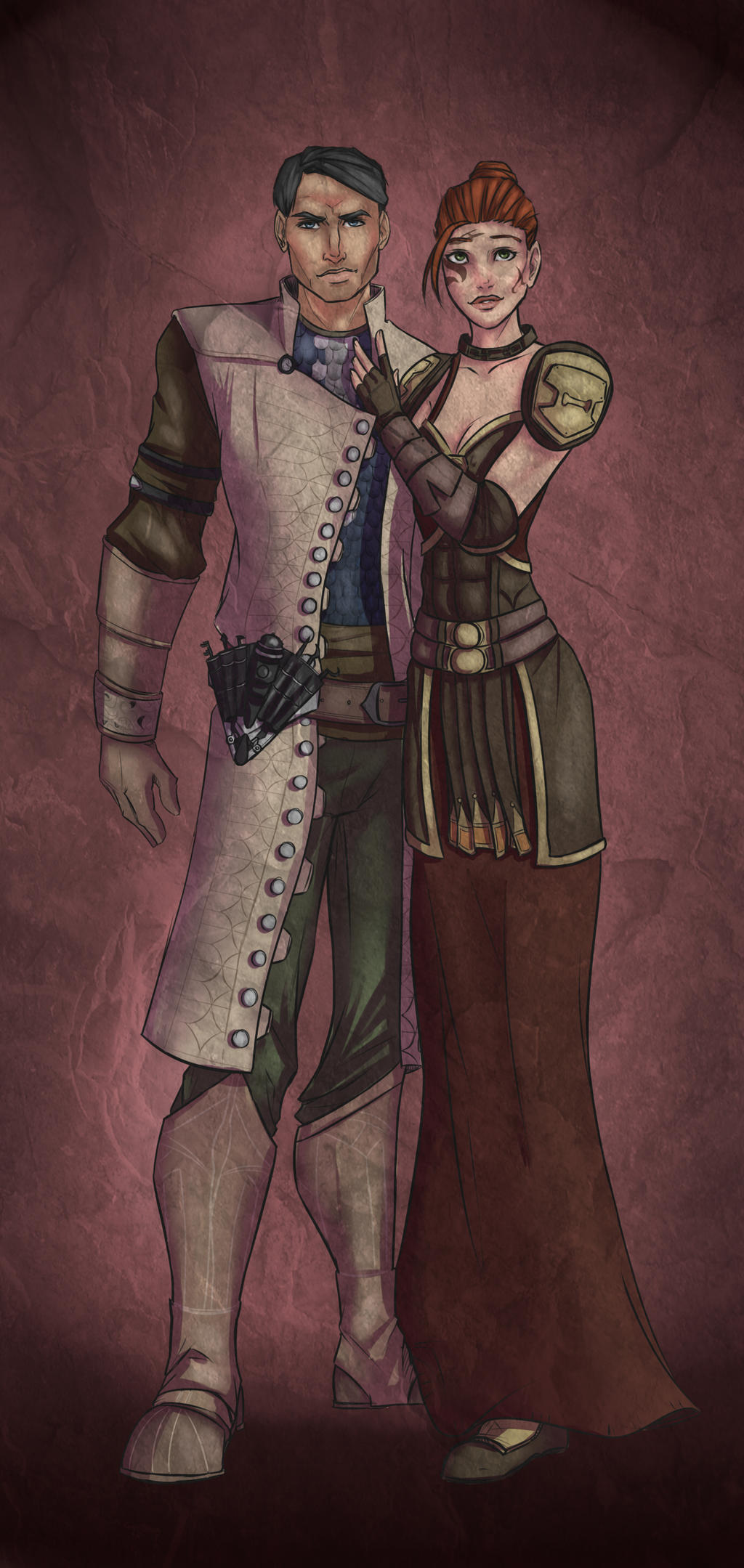 Dragon Age commission by lonelion4ever