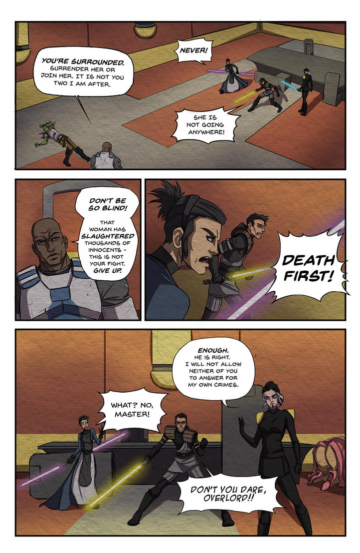 Roleplay Comic pg 1 by lonelion4ever