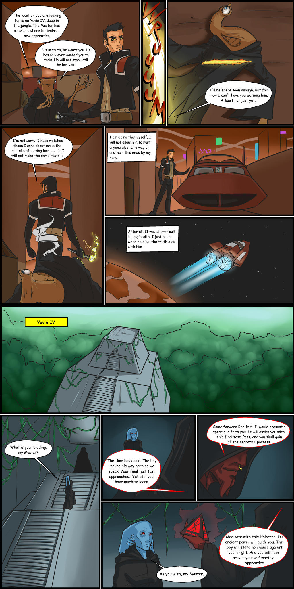 Dealing with the Past pg 2 by lonelion4ever