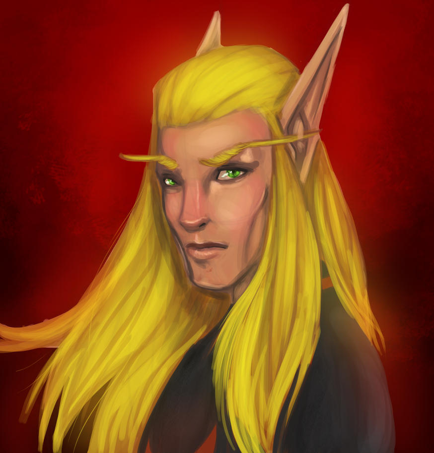 my elf by lonelion4ever
