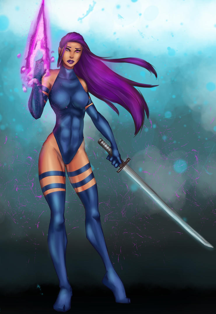 Psylocke love by lonelion4ever