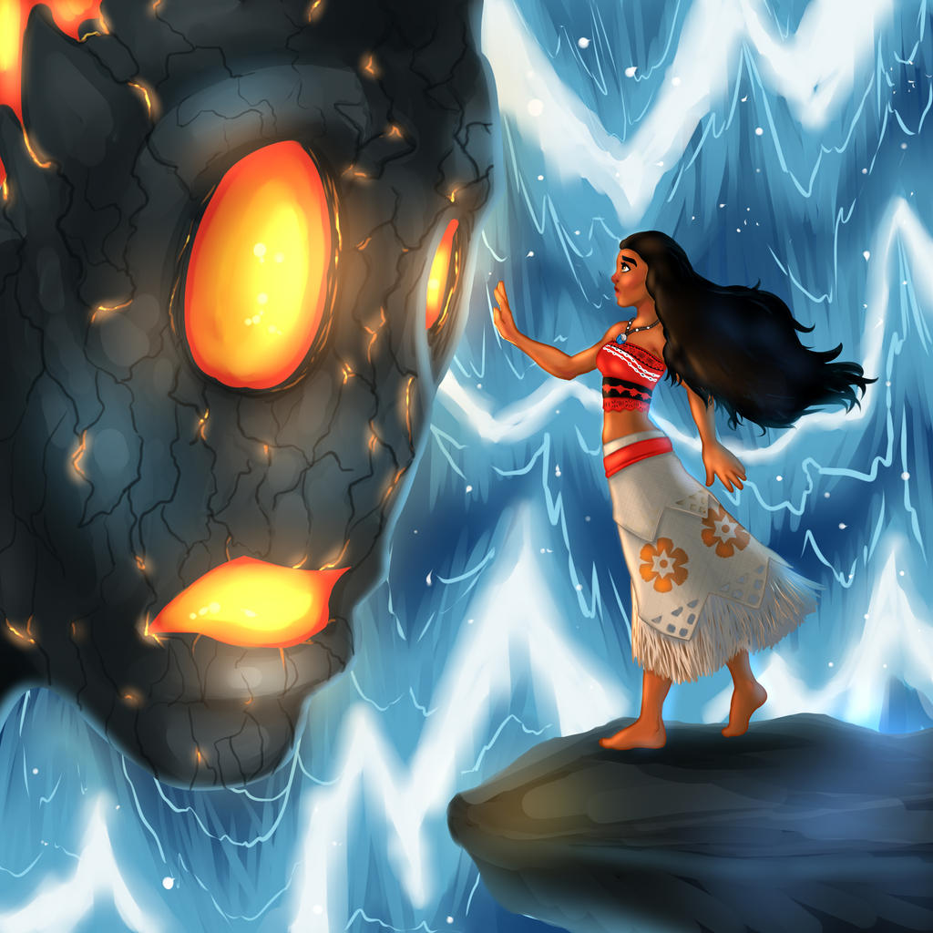 Moana fanart by lonelion4ever