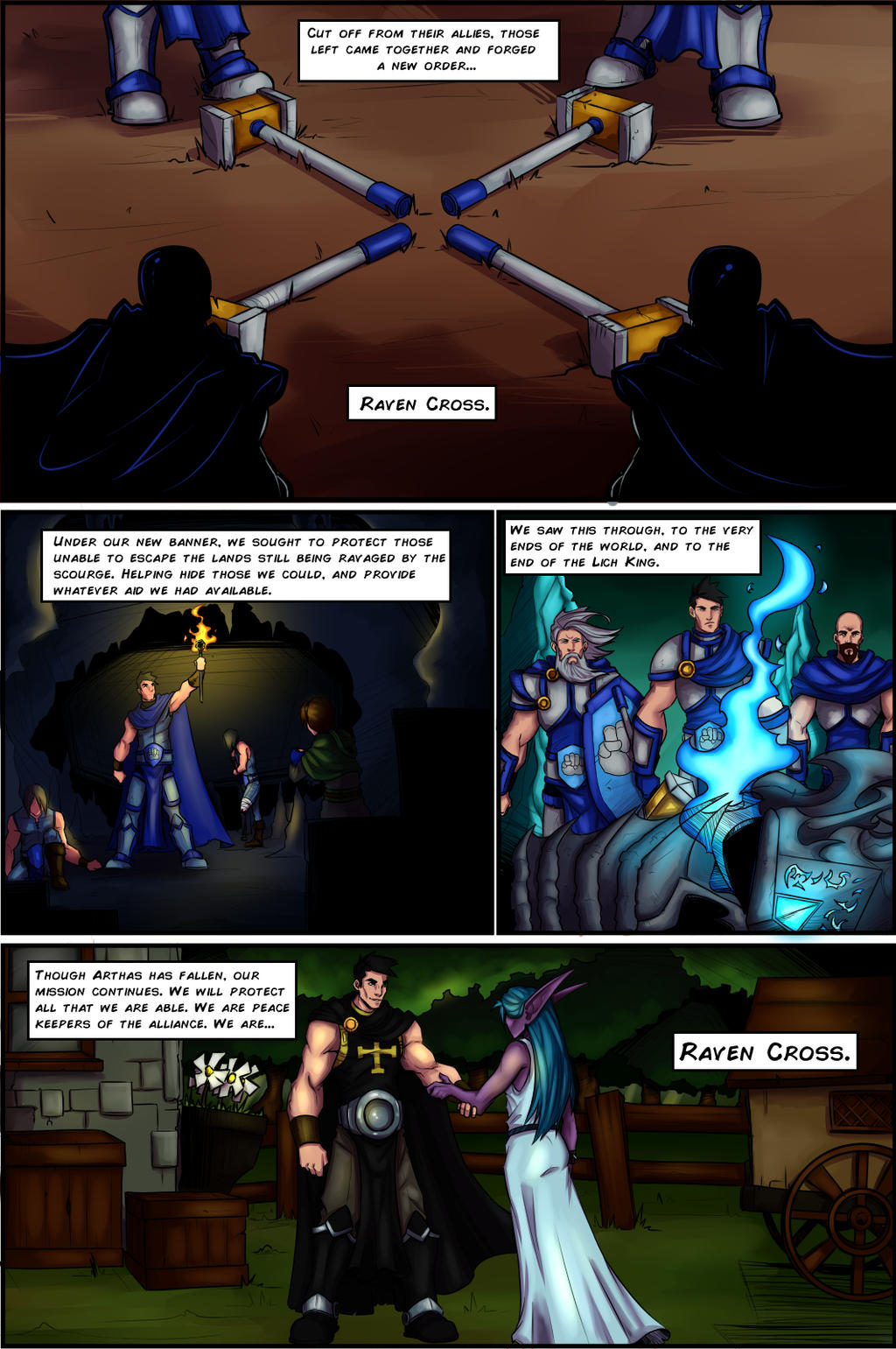 Raven Cross pg 2 by lonelion4ever