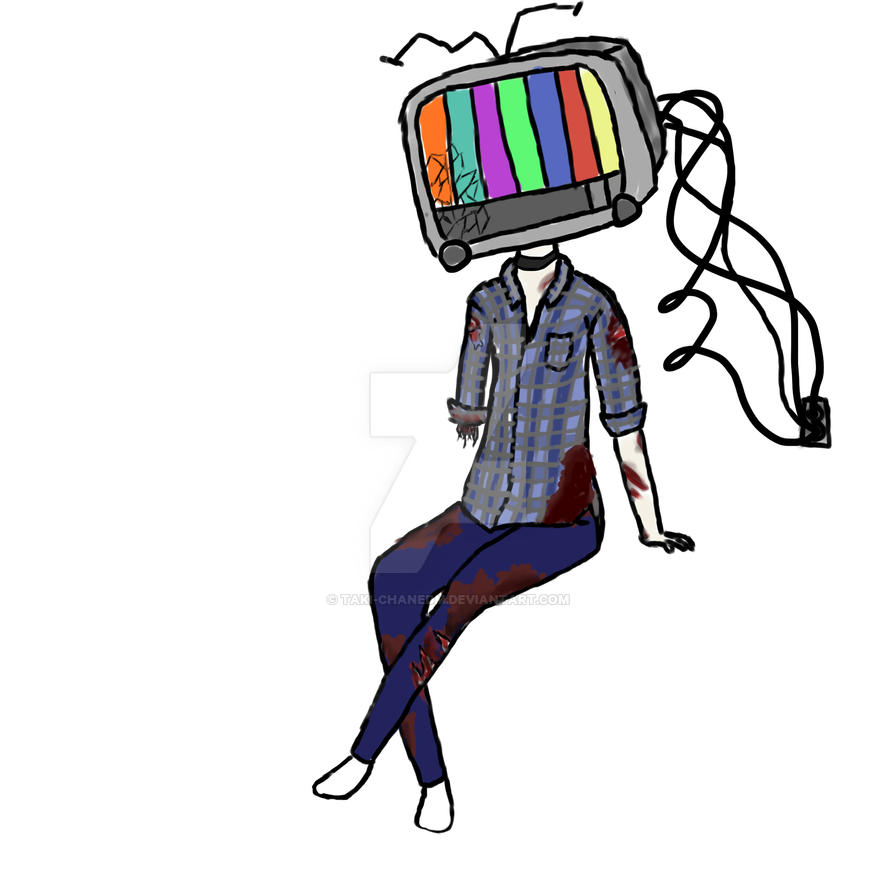Tv Head Meg by Taki-chanEDM
