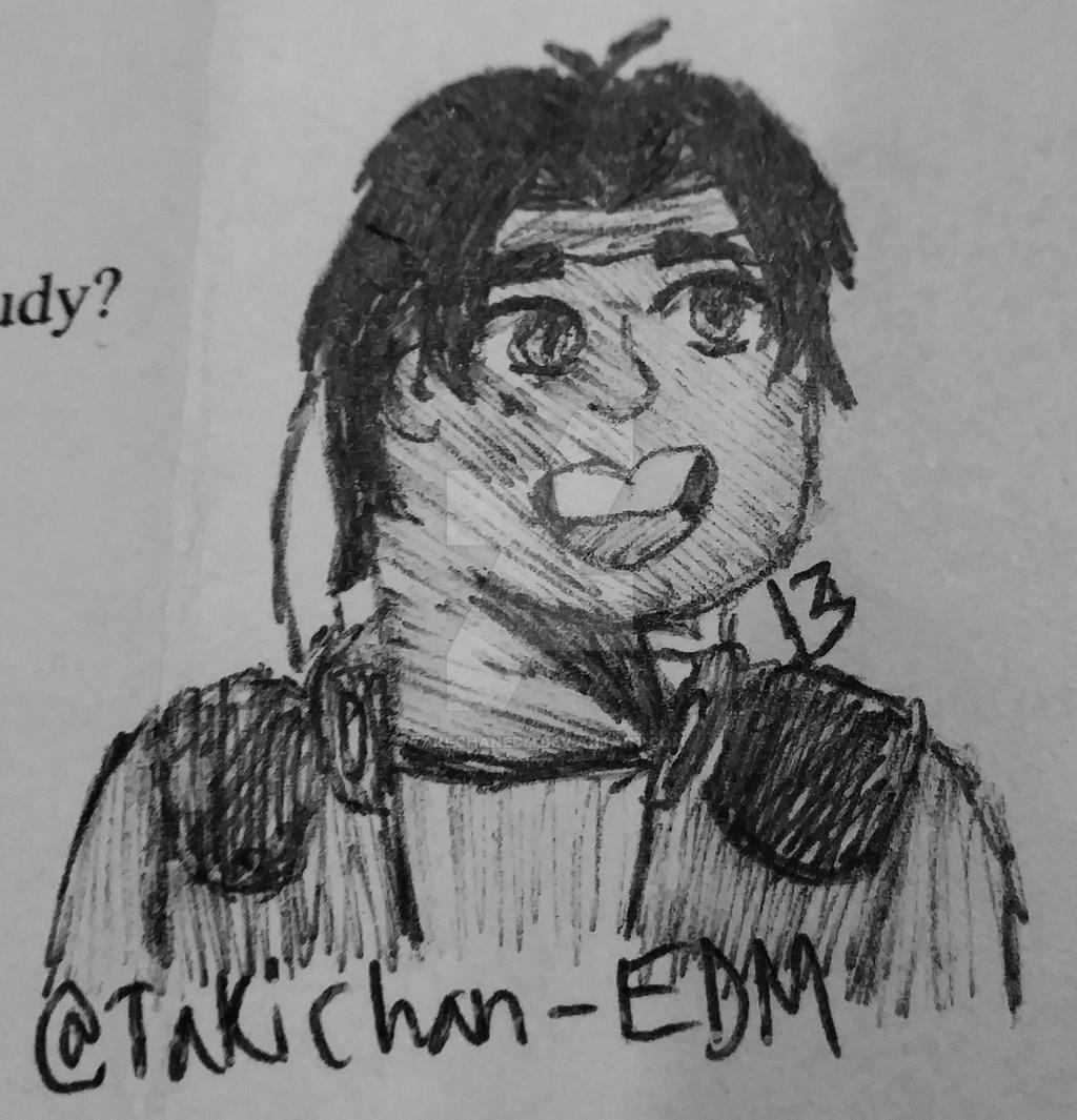 Hunk Doodle by Taki-chanEDM