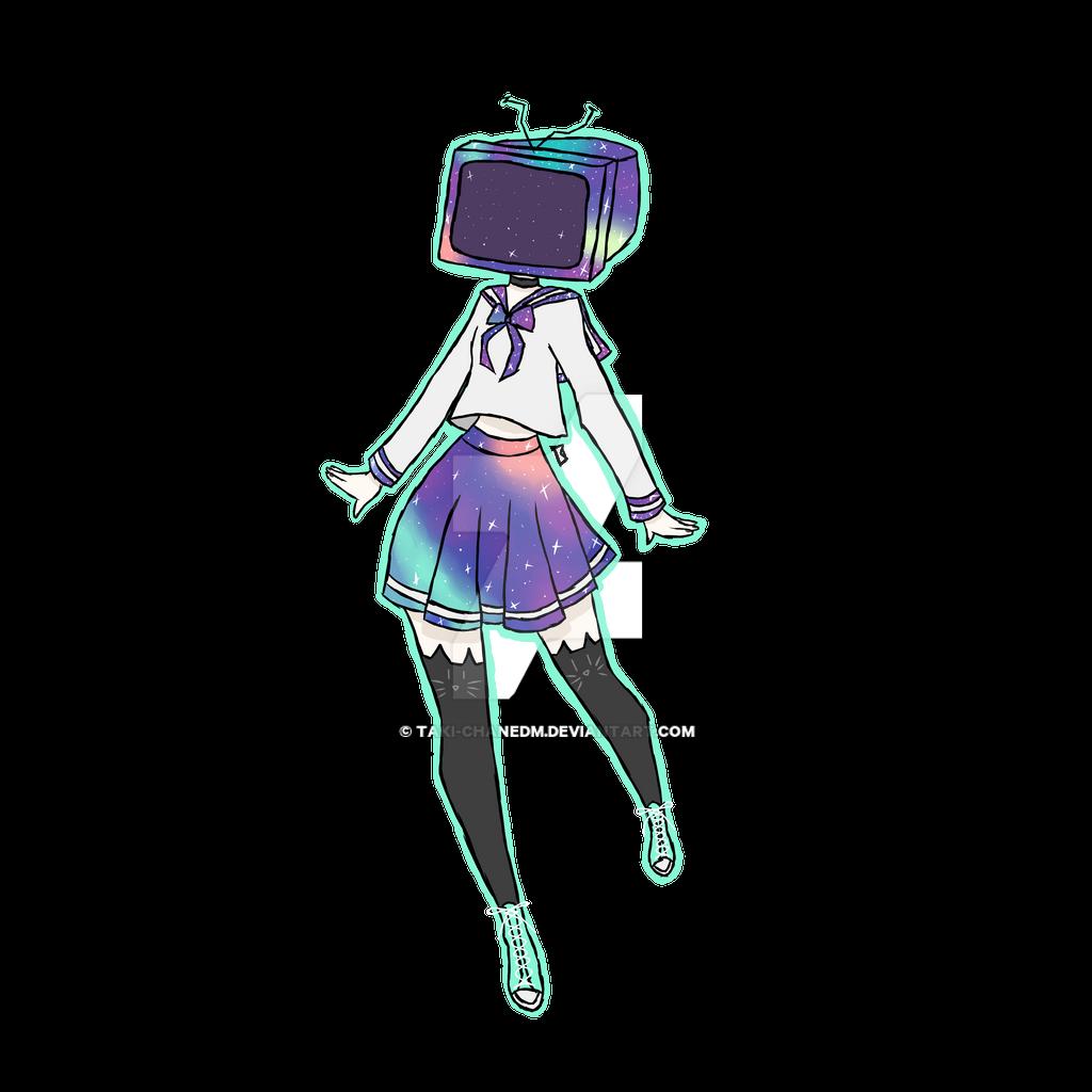Tv Head Galaxy Sailor Suit by Taki-chanEDM